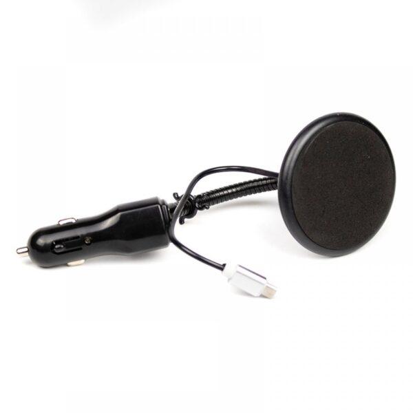 ΦΟΡΤΙΣΤΗΣ ΑΥΤΟΚΙΝΗΤΟΥ USB ΜΕ ΜΕΤΑΛΛΙΚΗ ΒΑΣΗ CAR BRACKET W2