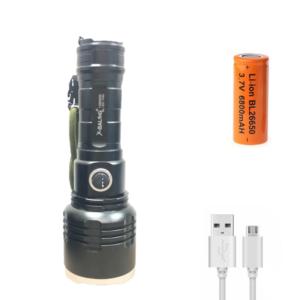 Επαναφορτιζόμενος φακός LED με mini usb OEM BL-531-P90-pazari4all.gr
