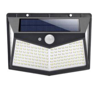 pazari4all.gr-Ηλιακό προβολάκι με 4 πλευρές με 212 σούπερ LED FO-TA002