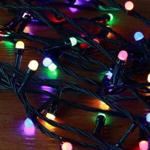 pazari4all-100 Χριστουγεννιάτικα Λαμπάκια LED RGB