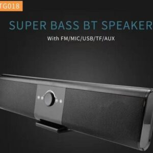 TG018 – Ασύρματο φορητό ηχείο μπάρα με Bluetooth/Fm radio-pazari4all.gr