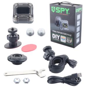 Σύστημα Ελέγχου Πίεσης Ελαστικών Μηχανής SPY TPMS-M1.-pazari4all.gr