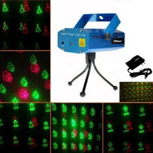 pazari4all-Projector Laser Stage DJ Green-Red 100/50mW Φωτορυθμικό SunSky
