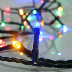 pazari4all-300 LED Χριστουγεννιάτικα Λαμπάκια RGB με 8 λειτουργίες