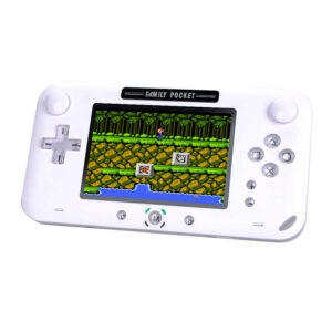 pazari4all-Κονσόλα χειρός 208 8-bit Ρετρό Παιχνίδια - Family Pocket Slim Station GP-40 Λευκό