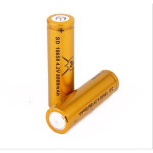 Eπαναφορτιζόμενη μπαταρία SD 18650 -9800mAh 4.2V 1 τεμάχιο.-pazari4all.gr