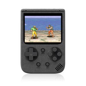 pazari4all-Επαναφορτιζόμενη Φορητή Κονσόλα Ρετρό Παιχνιδιών με 500 παιχνίδια New Sup 2.0 Inch LCD L Μαύρο