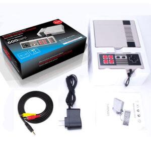 pazari4all-Ρετρό Παιχνιδομηχανή με 600 παιχνίδια - Mini Entertainment System