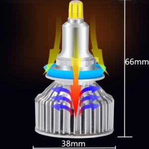 pazari4all-ΥΛΟ Λάμπες LED 9012 PENTIUM II 60W 6000K FULL CAN BUS