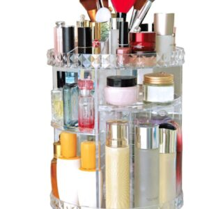 pazari4all-Περιστρεφόμενος Οργανωτής Καλλυντικών Rotating Cosmetics Organizer