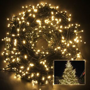 pazari4all-500 LED Χριστουγεννιάτικα Φωτάκια 45m σε Λευκό Θερμό Χρώμα