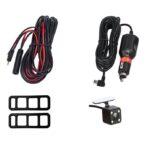 """pazari4all-Καθρέπτης Αυτοκινήτου με Οθόνη Αφής LCD 4,3"""", Κάμερα Full HD DVR & Κάμερα Οπισθοπορείας"""