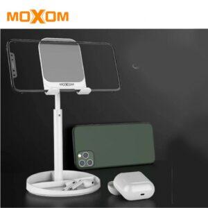 pazari4all-Επεκτεινόμενη βάση στήριξης κινητού επιτραπέζια MX - VS09 MOXOM (σε Λευκό)