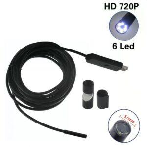 pazari4all-Ενδοσκοπική USB 5.5mm 10m Kάμερα με Μαγνητικό Άγκιστρο LED (OT106) OEM