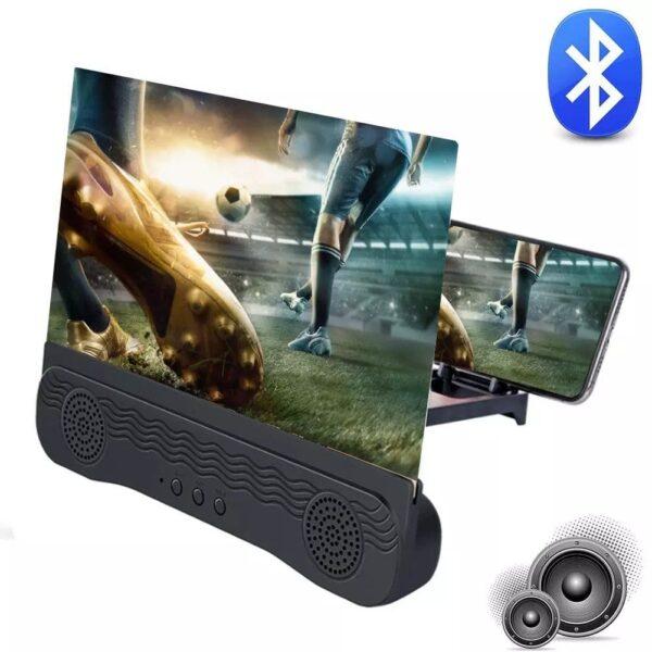 pazari4all-Πτυσσόμενη Βάση 3D Phone Screen Amplifier / Mobile Home Theater 12.0 inch