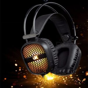pazari4all-Ακουστικά Gaming 3,5 mm E-Sport Headphones με μικρόφωνο LED RGB The Engineer A2- Black