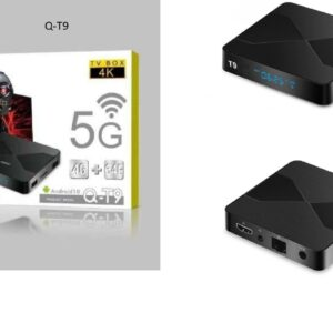 pazari4all-TV BOX Q-T9 ANDOWL ANDROID 10 -64GB/4GB/5G/6K GF5455