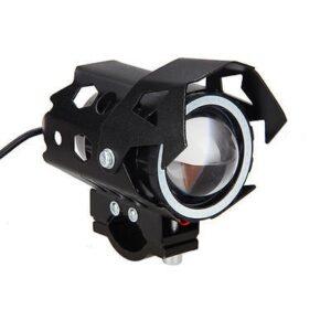 pazari4all-Αδιάβροχος προβολέας μοτοσυκλέτας LED Laser Gun U9 μαύρου χρώματος 1 τεμ. IP67 OEM