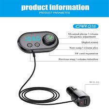 pazari4all-Bluetooth Πομπός Αυτοκινήτου με USB Φορτιστή – Micro SD – TF, MP3 Player με LCD Οθόνη για τον Αεραγωγό