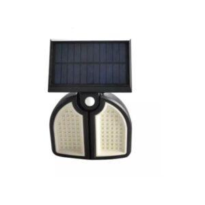pazari4all-Ηλιακό προβολάκι 90LED με ανίχνευση κίνησης και τηλεχειριστήριο