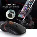 pazari4all-Bάση στήριξης τηλεφώνου για αεραγωγό αυτοκινήτου (ποντίκι)
