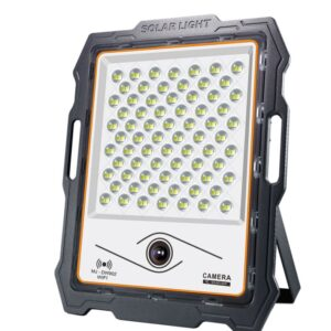 pazari4all-Υψηλής φωτεινότητας εξωτερικός ηλιακός προβολέας με κάμερα CCTV και wifi 300W MJ-DW903
