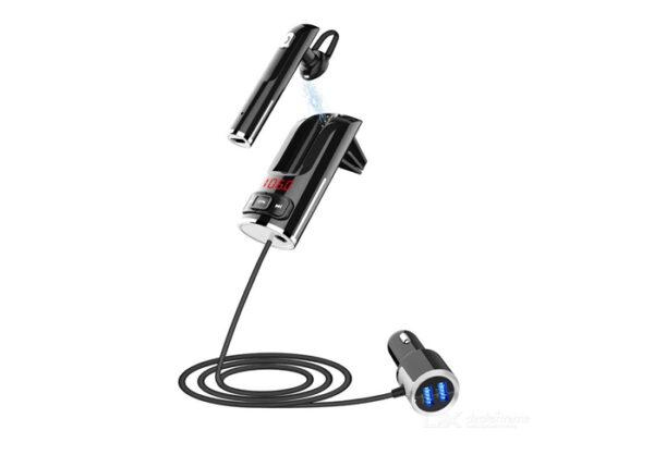 pazari4all-Πομπός FM Transmitter & Handsfree Bluetooth - BC46