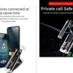 pazari4all-Πομπός FM Transmitter & Handsfree Bluetooth – BC46