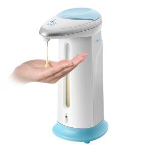 pazari4all-Αυτόματος Διανομέας διανεμητής Σαπουνιού Dispenser 330ml με Αισθητήρα κίνησης, 9x7x19 cm