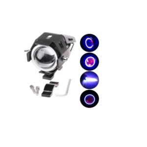pazari4all-Αδιάβροχος προβολέας μοτοσυκλέτας Cree LED U7 mini Angel Eye